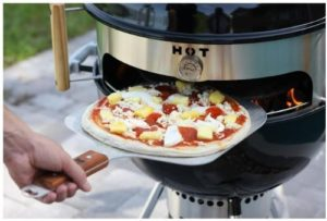 BBQ Kettle Grill Pizza Oven